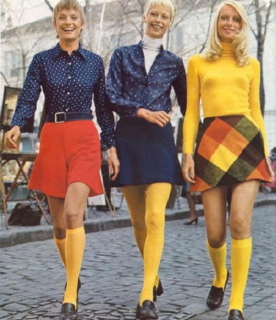 Image result for 1970's short skirts