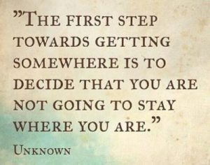 Image result for taking the first step