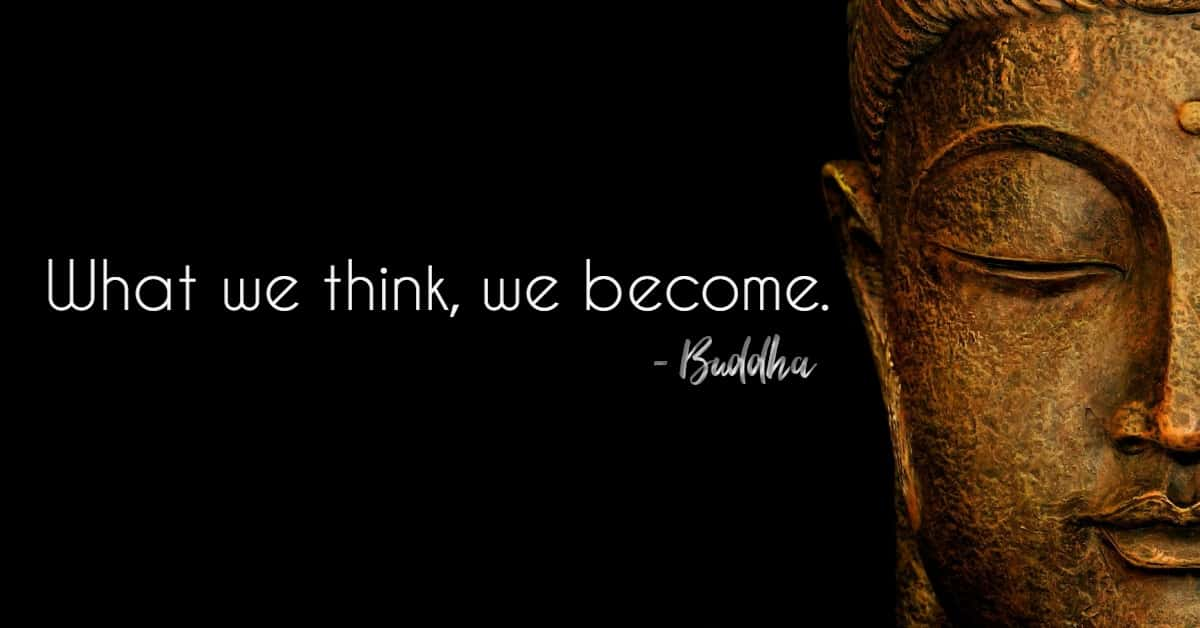 Image result for what we think, we become