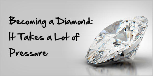 Image result for creating a diamond takes pressure
